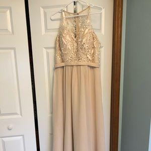Dresses & Skirts - Kennedy Blue Champagne Maternity Bridesmaid Dress